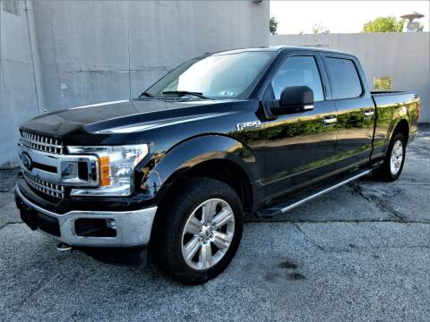 2018 Ford F-150 for sale at New Concept Auto Exchange in Glenolden PA
