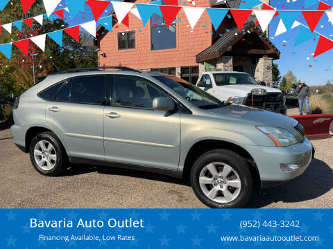2004 Lexus RX 330 for sale at Bavaria Auto Outlet in Victoria MN