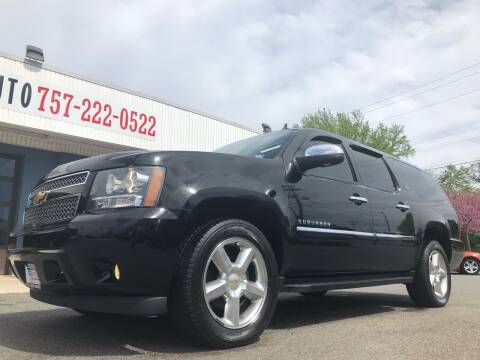 2012 Chevrolet Suburban for sale at Trimax Auto Group in Norfolk VA