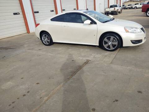 2009 Pontiac G6 for sale at 4 B CAR CORNER in Anadarko OK