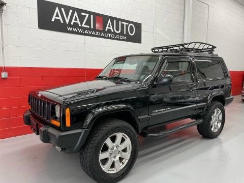 1999 Jeep Cherokee for sale at AVAZI AUTO GROUP LLC in Gaithersburg MD