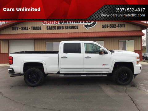 2017 Chevrolet Silverado 2500HD for sale at Cars Unlimited in Marshall MN
