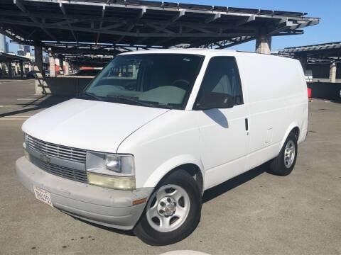 2005 Chevrolet Astro Cargo for sale at CITY MOTOR SALES in San Francisco CA