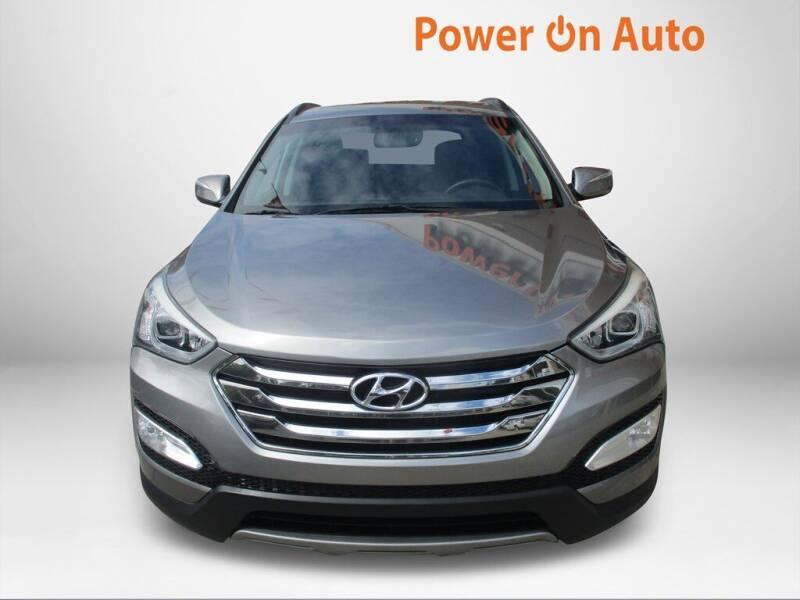 2013 Hyundai Santa Fe Sport for sale at Power On Auto LLC in Monroe NC