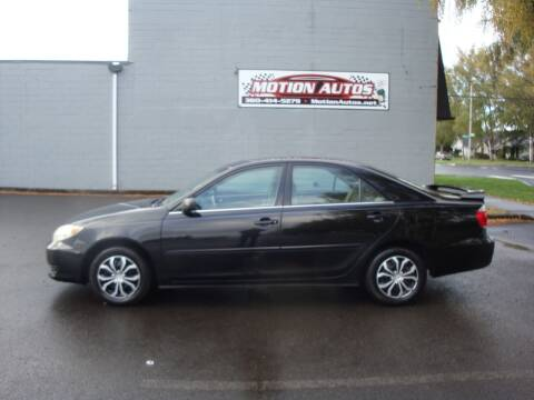 2006 Toyota Camry for sale at Motion Autos in Longview WA