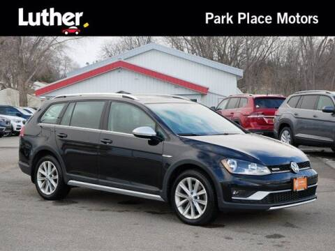 2017 Volkswagen Golf Alltrack for sale at Park Place Motor Cars in Rochester MN
