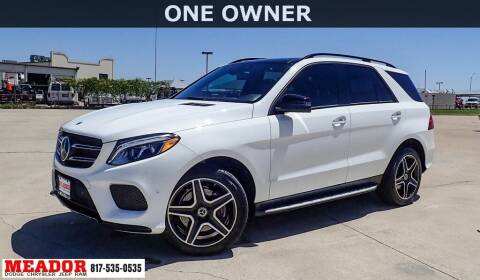 2018 Mercedes-Benz GLE for sale at Meador Dodge Chrysler Jeep RAM in Fort Worth TX