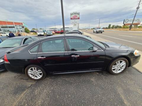 2013 Chevrolet Impala for sale at HUM MOTORS in Caldwell ID