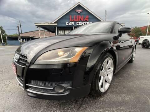 2008 Audi TT for sale at LUNA CAR CENTER in San Antonio TX