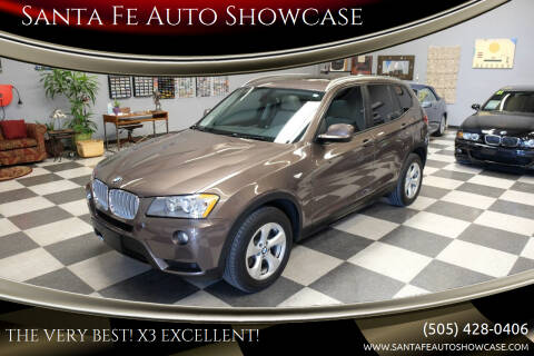 2012 BMW X3 for sale at Santa Fe Auto Showcase in Santa Fe NM