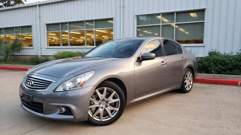 2013 Infiniti G37 Sedan for sale at Houston Auto Preowned in Houston TX