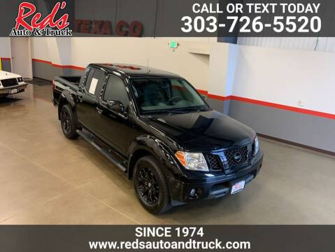 2019 Nissan Frontier for sale at Red's Auto and Truck in Longmont CO