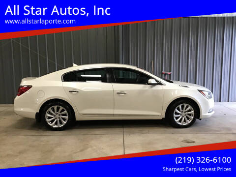 2014 Buick LaCrosse for sale at All Star Autos, Inc in La Porte IN