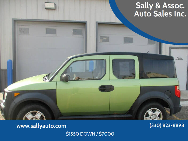 2006 Honda Element for sale at Sally & Assoc. Auto Sales Inc. in Alliance OH