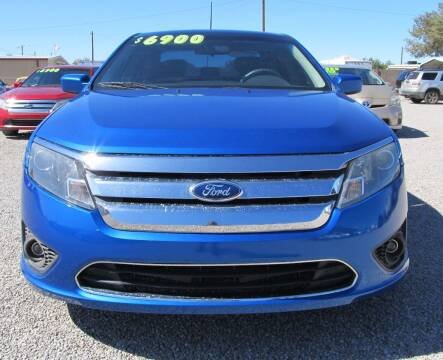 2012 Ford Fusion for sale at The Auto Shop in Alamogordo NM