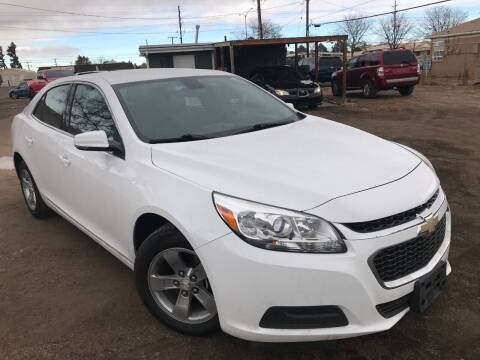 2016 Chevrolet Malibu Limited for sale at 3-B Auto Sales in Aurora CO