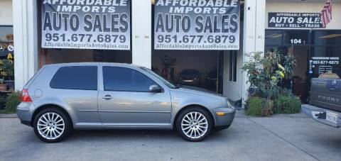 2005 Volkswagen GTI for sale at Affordable Imports Auto Sales in Murrieta CA
