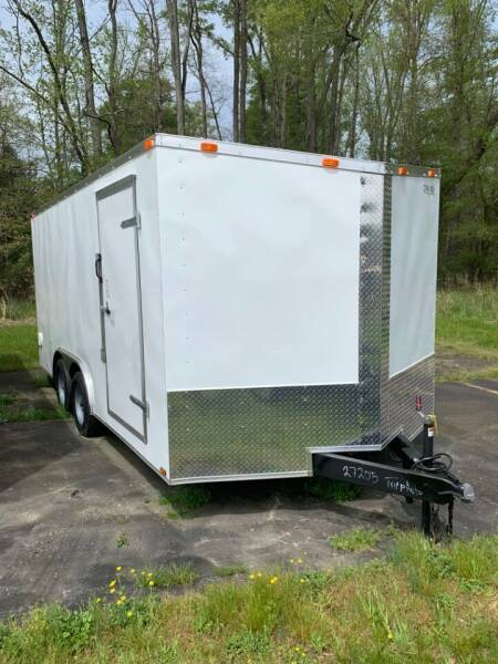 2021 New Cynergy 8.5x16 Dovetail Basic for sale at Tripp Auto & Cycle Sales Inc in Grimesland NC