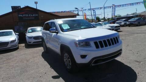 2014 Jeep Grand Cherokee for sale at Auto Click in Tucson AZ