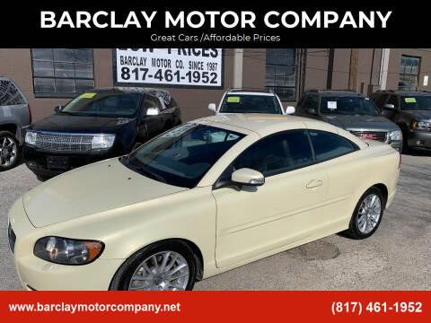 2009 Volvo C70 for sale at BARCLAY MOTOR COMPANY in Arlington TX