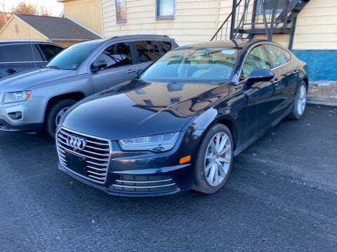 2016 Audi A7 for sale at Sisson Pre-Owned in Uniontown PA