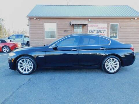2014 BMW 5 Series for sale at Super Cars Direct in Kernersville NC