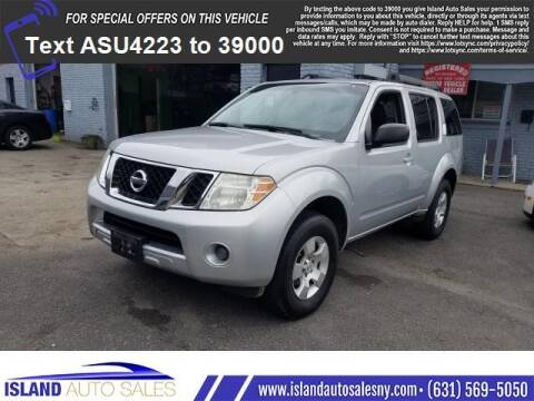 2008 Nissan Pathfinder for sale at Island Auto Sales in E.Patchogue NY