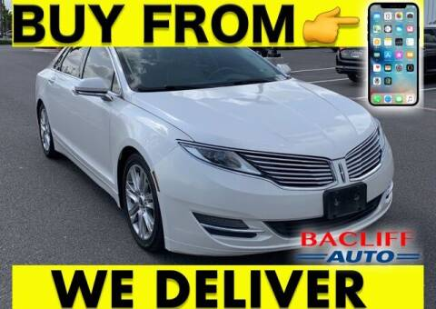 2014 Lincoln MKZ for sale at Bacliff Auto in Bacliff TX