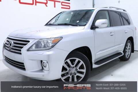 2013 Lexus LX 570 for sale at Fishers Imports in Fishers IN