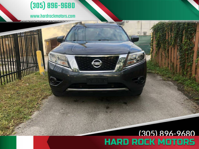 2013 Nissan Pathfinder for sale at Hard Rock Motors in Hollywood FL