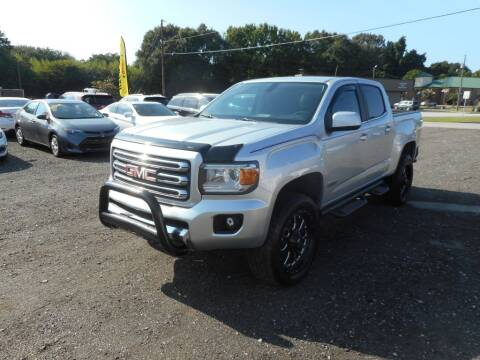 2015 GMC Canyon for sale at Auto Center Elite Vehicles LLC in Spartanburg SC