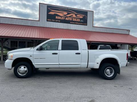 2006 Dodge Ram Pickup 3500 for sale at Ridley Auto Sales, Inc. in White Pine TN