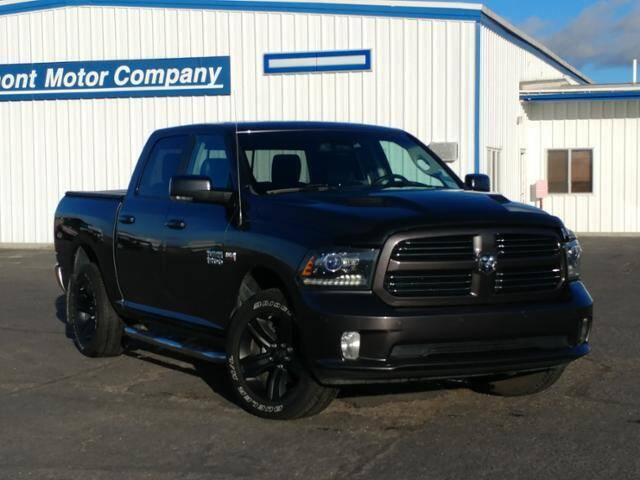 2016 RAM Ram Pickup 1500 for sale at Rocky Mountain Commercial Trucks in Casper WY