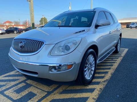 2012 Buick Enclave for sale at Auto America - Monroe in Monroe NC