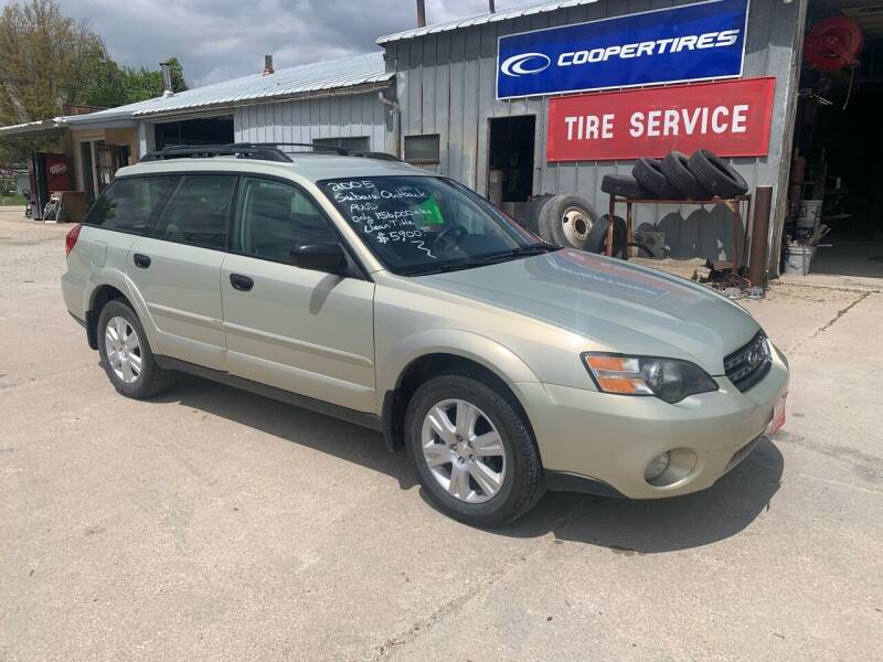 2005 Subaru Outback for sale at GREENFIELD AUTO SALES in Greenfield IA