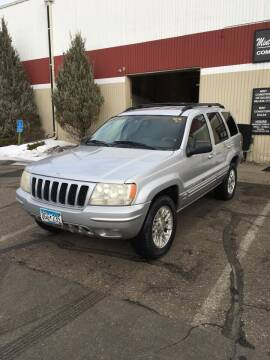 2002 Jeep Grand Cherokee for sale at Specialty Auto Wholesalers Inc in Eden Prairie MN