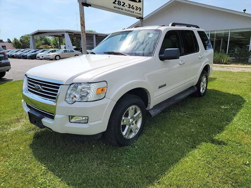 2008 Ford Explorer for sale at Lakeshore Auto Wholesalers in Amherst OH