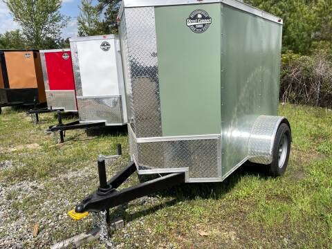 2021 4X6 Single Axle Enclosed Cargo Trailer for sale at Direct Connect Cargo in Tifton GA