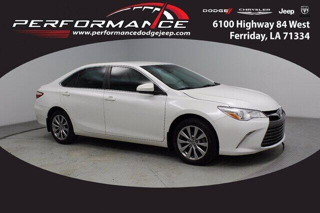 2016 Toyota Camry for sale at Performance Dodge Chrysler Jeep in Ferriday LA