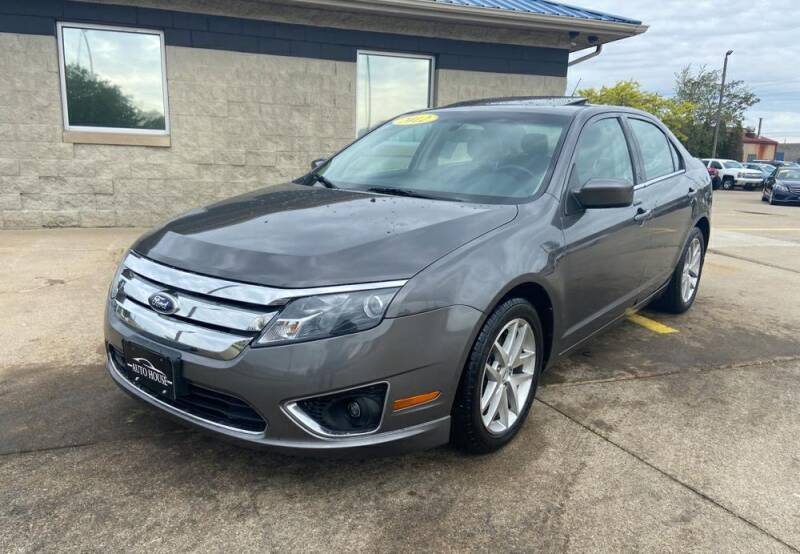 2012 Ford Fusion for sale at Auto House of Bloomington in Bloomington IL