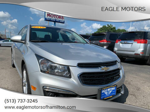 2015 Chevrolet Cruze for sale at Eagle Motors in Hamilton OH