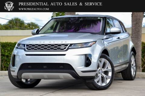 2020 Land Rover Range Rover Evoque for sale at Presidential Auto  Sales & Service in Delray Beach FL