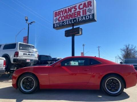 2013 Chevrolet Camaro for sale at Bryans Car Corner in Chickasha OK