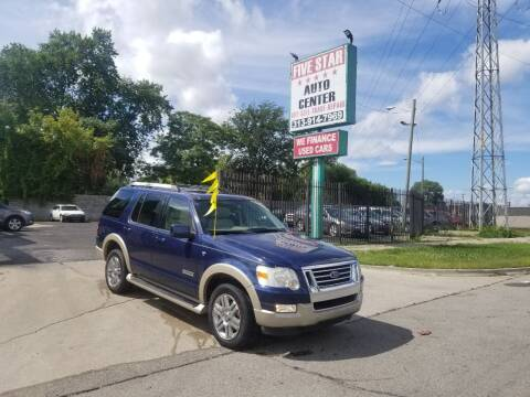2007 Ford Explorer for sale at Five Star Auto Center in Detroit MI