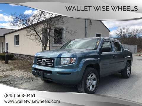 2008 Honda Ridgeline for sale at Wallet Wise Wheels in Montgomery NY