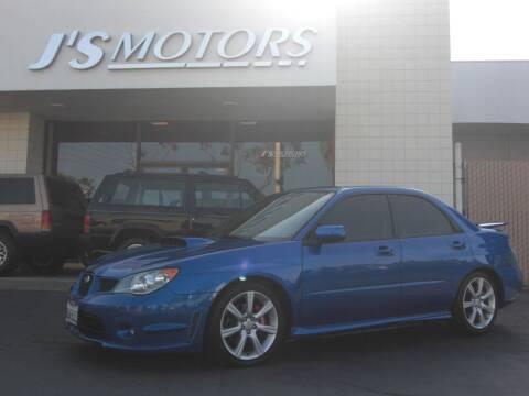 2006 Subaru Impreza for sale at J'S MOTORS in San Diego CA