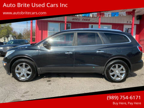 2008 Buick Enclave for sale at Auto Brite Used Cars Inc in Saginaw MI
