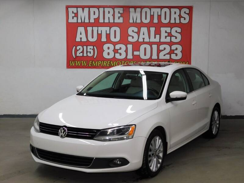 2012 Volkswagen Jetta for sale at EMPIRE MOTORS AUTO SALES in Philadelphia PA