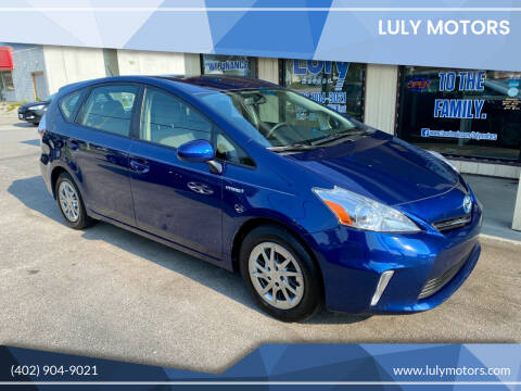2012 Toyota Prius v for sale at Luly Motors in Lincoln NE