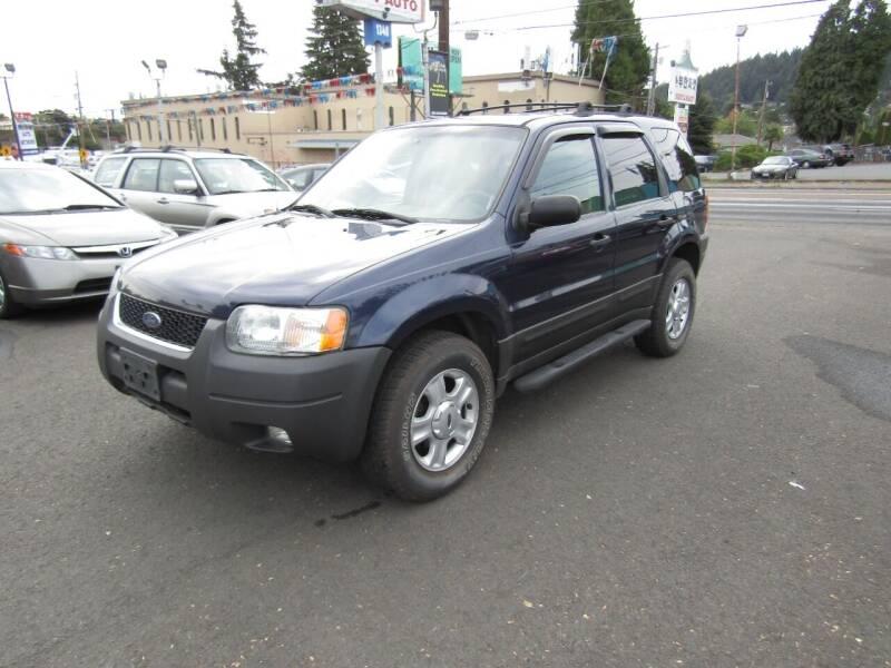 2003 Ford Escape for sale at ARISTA CAR COMPANY LLC in Portland OR